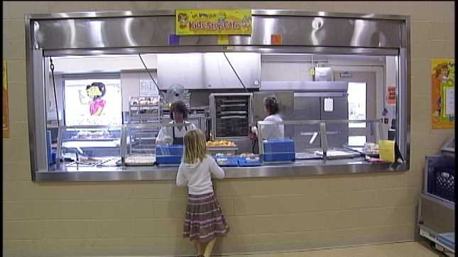 """The National School Lunch Program will let school districts decide whether to buy ground beef that contains the """"pink slime"""" filler."""