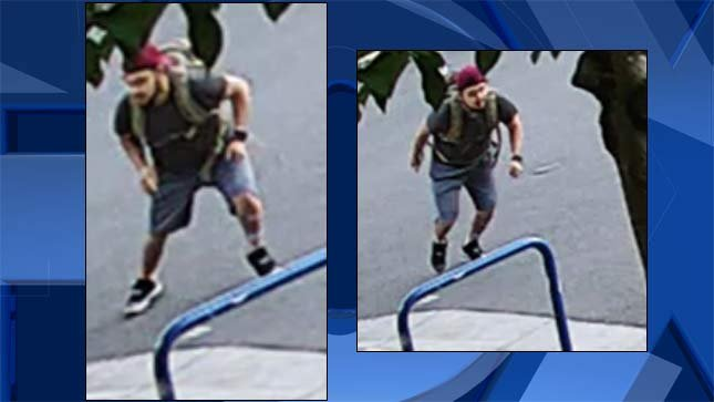 Surveillance images released by Portland Police Bureau.