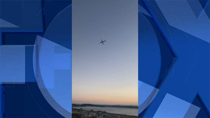 Horizon Air hijacking: 'pilot' performs stunts before crashing