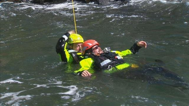 Hey, Do My Job! Pete Ferryman becomes a rescue swimmer for a day