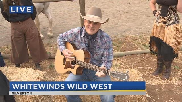 On the Go with Joe at Whitewinds Wild West Show