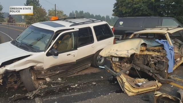 OSP: One person killed in two-vehicle crash on Hwy 47 near Vernonia