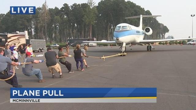On the Go with Joe at 2018 Plane Pull