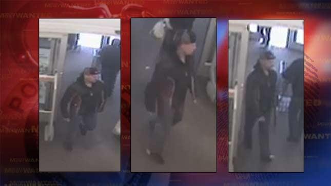 Police Shoplifter Pulls Samurai Sword On Security Guard