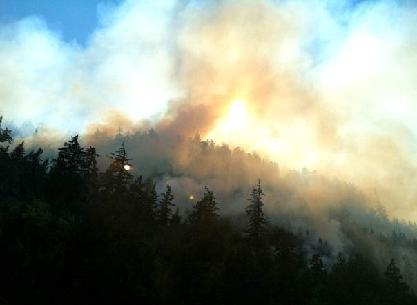 Hood River fire