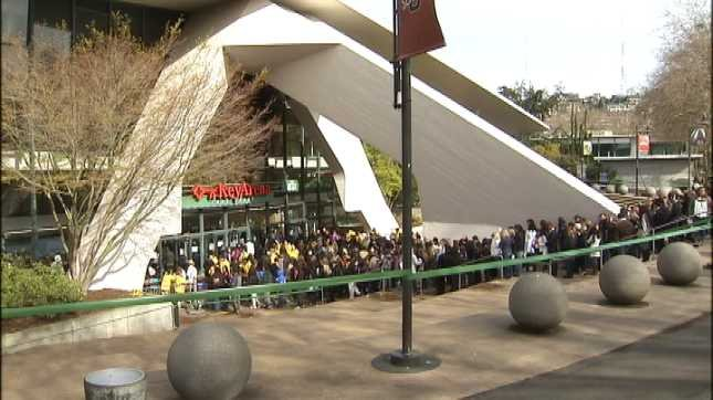 Seattle's Key Arena is the old home of the Seattle Sonics.