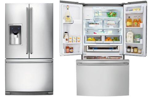 Electrolux French Door Refrigerator, IQ Touch Series, Model#EI27BS26JS