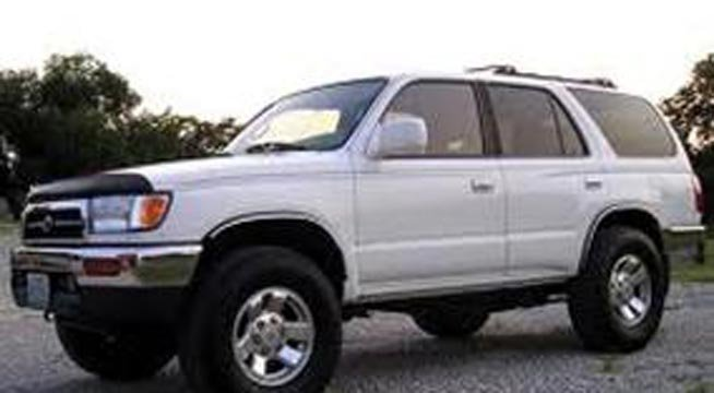 A vehicle similar to the one stolen outside a northeast Portland bank.