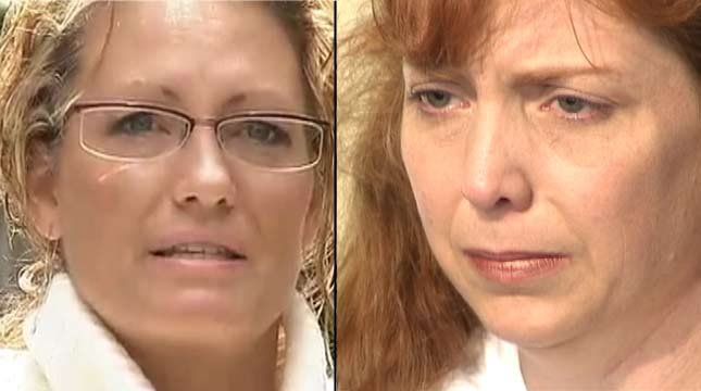 Desiree Young (left) and Terri Horman (right)