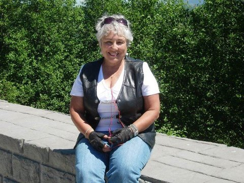 Norma Perrone on a ride to Mt. St. Helens August 5