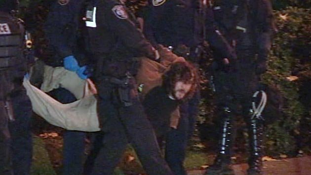 A week earlier, police did make arrests at Terry Schrunk Plaza, but an e-mail obtained by Judicial Watch suggested miscommunication was to blame for the police action.