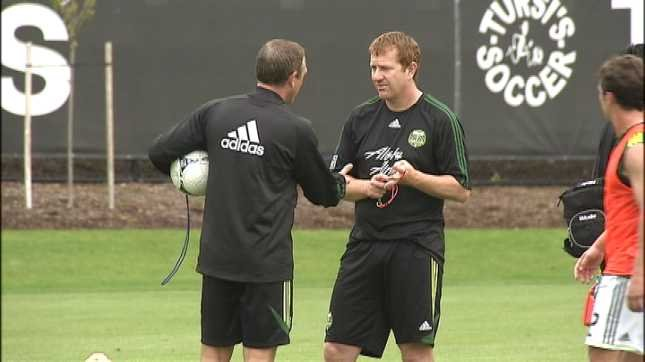 As reports of an agreement with a new coach surfaced, the Portland Timbers reserve team fell to San Jose 3-1.