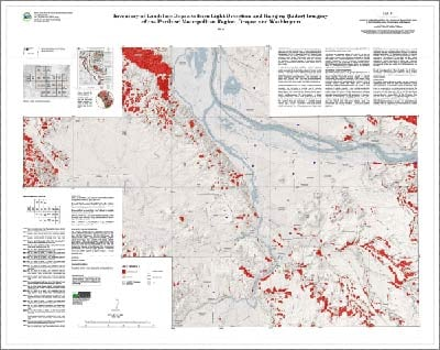 Landslide Maps Oregon Creates Landslide Maps