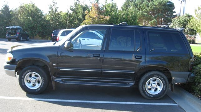 Whitney Heichel's SUV