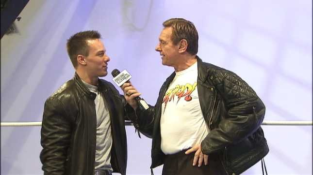 Colt Toombs (left) and Rowdy Roddy Piper (right).