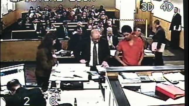 Adam Lewis in a previous court appearance