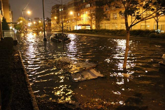 Flooding in Queens. Photo: Adam Taylor