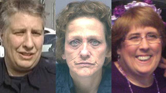 Left to right: Lynn Benton, Susan Campbell and Debbie Higbee-Benton