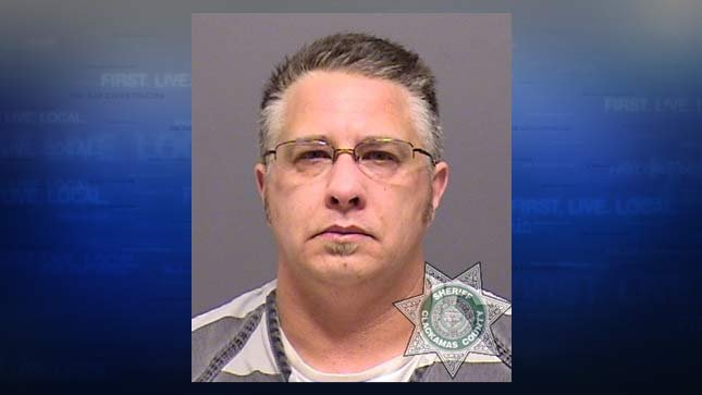Lynn Benton, in his mug shot from the Clackamas County Jail.