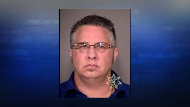 Lynn Benton, in his mug shot from the Multnomah County Jail.