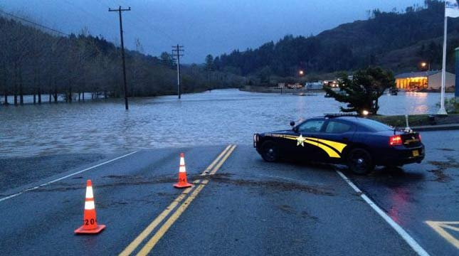 Flooding in Curry County