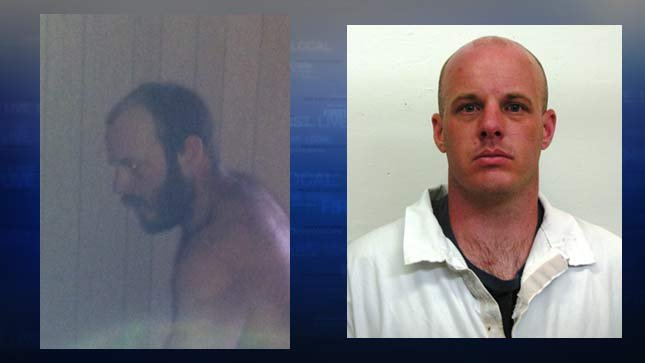Recent cell phone photo of Shrader, left.