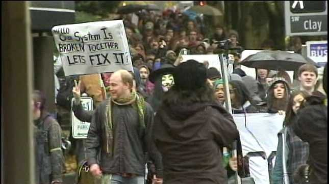 Occupy Portland rally (File photo/2011)