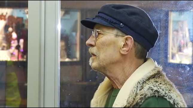 Gary Quackenbush at Tillamook police station