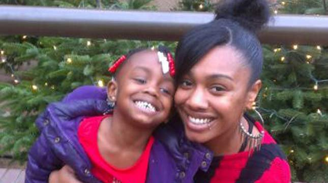 Dominique Brown and her daughter // Photo courtesy: The Brown family
