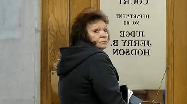 Linda Terry during previous court appearance