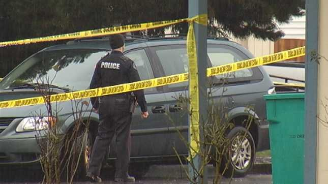 Vancouver crime scene