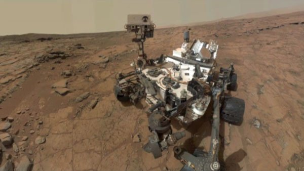 Curiosity rover tests on Mars show the planet may have once sustained life. (Photo: CNN)