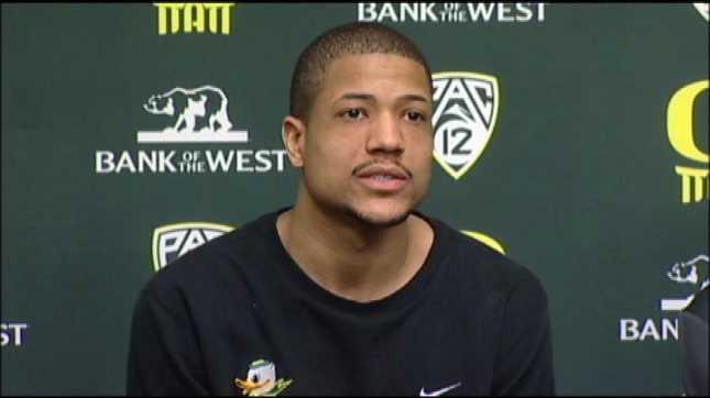 Oregon center Tony Woods