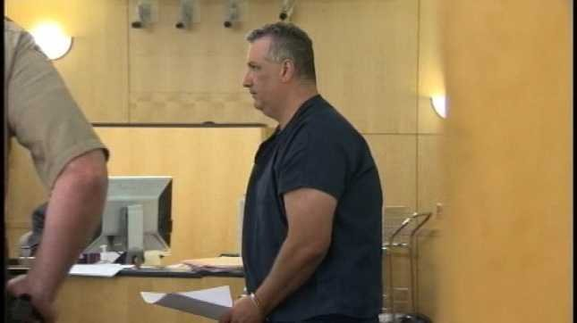 Steven Hyson in court