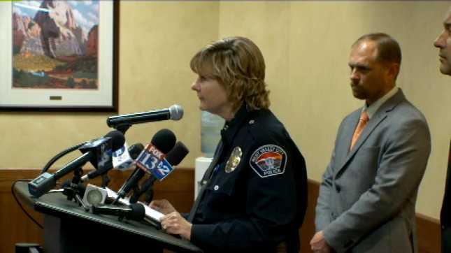 Acting West Valley City Police Chief Anita Schwemmer