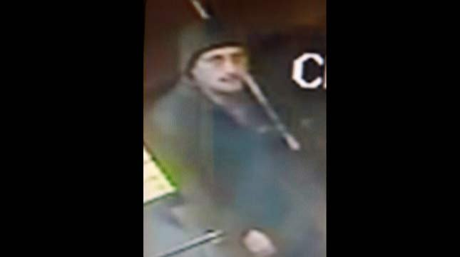 Man at restaurant prior to robbery