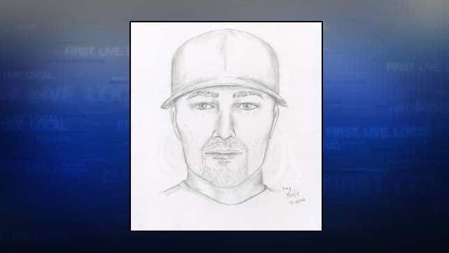 A sketch from the Portland Police Bureau.