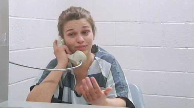 Ashley Guldager, Thursday, at the Clackamas County Jail