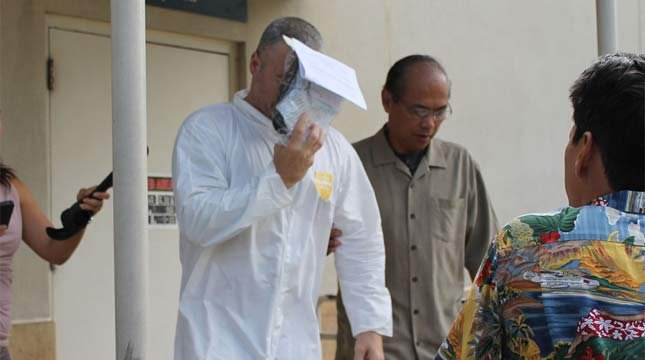 Nathaniel Cosby was released from jail Friday. // Photo courtesy: HawaiiNewsNow.com