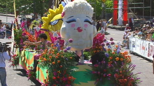 The PGE Float