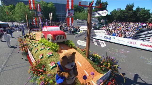 The Fred Meyer Float