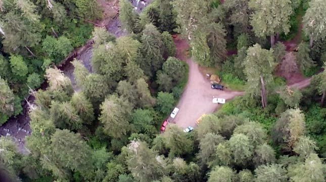The campground from which she disappeared is located in Gifford Pinchot National Forest and it's about 60 miles northeast of Portland. (Photo: AIR 12)