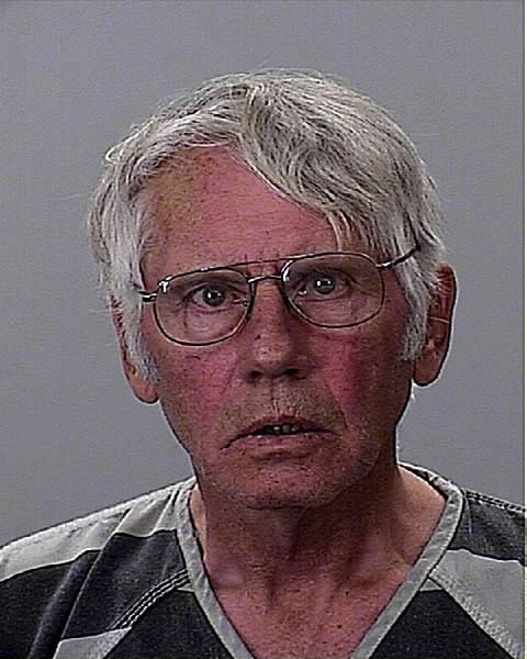 Edward Nelson's booking photo from the Coos County Jail.