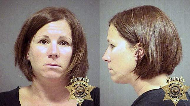 Denise Keesee's mugshot from the Washington County Jail.