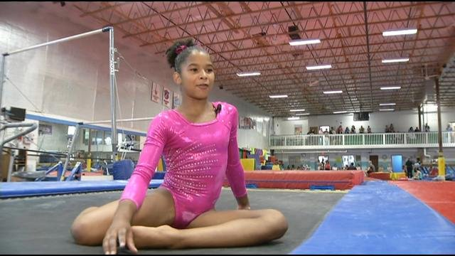 Young gymnast wins national competition, eyes Olympics - KPTV - FOX 12