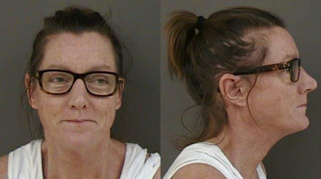 Jean Keating, July 2013 jail photo