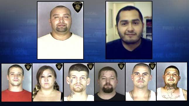 Top left, Daryl Hernandez.