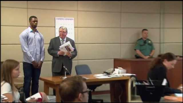 Terrence Jones in court Wednesday
