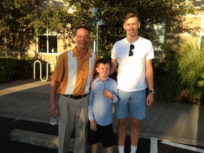 Lonnie Hamon (Left), Owen Hamon (Center), Eric Rauch (Right)