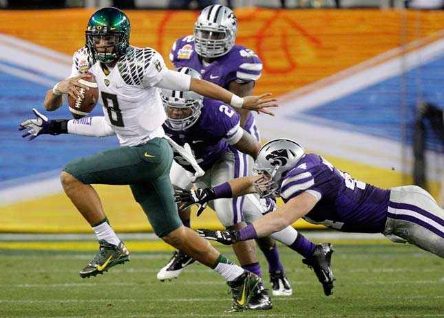 Marcus Mariota is expected to have another big season as Ducks quarterback.